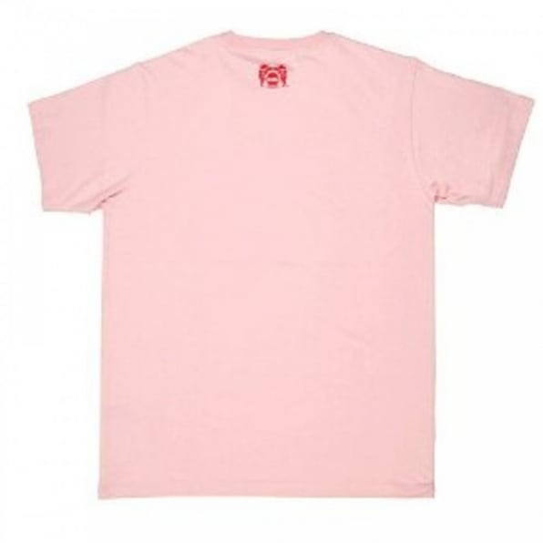 RMC JEANS Sumo Pink Crew Neck Short Sleeve Regular Fit T-Shirt