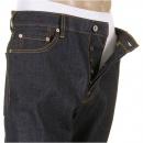 RMC JEANS Super Exclusive Dark Indigo Raw Mens Denim Jeans Slim Fit