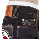 RMC JEANS Super Exclusive Design Dark Indigo 1001 Raw Denim Jeans
