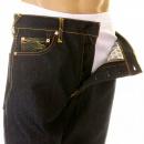 RMC JEANS Super Exclusive Design Dark Indigo Selvedge Raw Denim Jeans