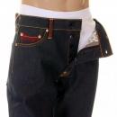RMC JEANS Super Exclusive Design Vintage Cut Dark Indigo Raw Denim Jeans