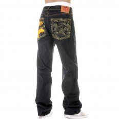 Super Exclusive Design Vintage cut Dark Indigo Raw Denim Jeans