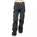 RMC JEANS Super Exclusive Mizuhiki Design Indigo Raw Denim Jeans for Men