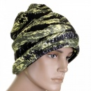 RMC JEANS Tiger Camo Neck Warmer Snood in Green