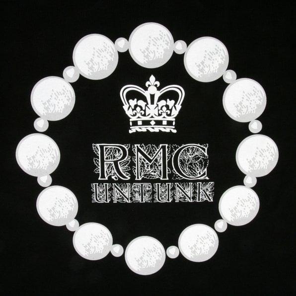 RMC JEANS Untunk Black Crew Neck Regular Fit Short Sleeve T-Shirt