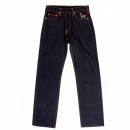 RMC JEANS Vintage Cut Dark Indigo Son of Fuji and Lady Japanese Selvedge Raw Denim Jeans