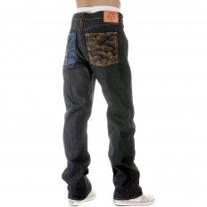 Vintage Cut House Selvedge Dark Indigo Raw Denim Jeans for Men