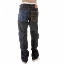 RMC JEANS Vintage Cut House Selvedge Dark Indigo Raw Denim Jeans for Men