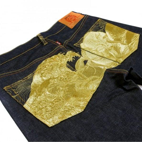 RMC JEANS Vintage Cut Limited Edition Dark Indigo Selvedge Raw Denim Jeans