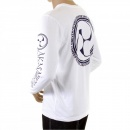 RMC JEANS White crew neck long sleeve regular fit t-shirt