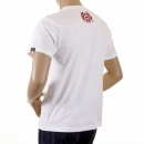 RMC JEANS White Crew Neck Regular Fit Short Sleeve T-shirt for Men