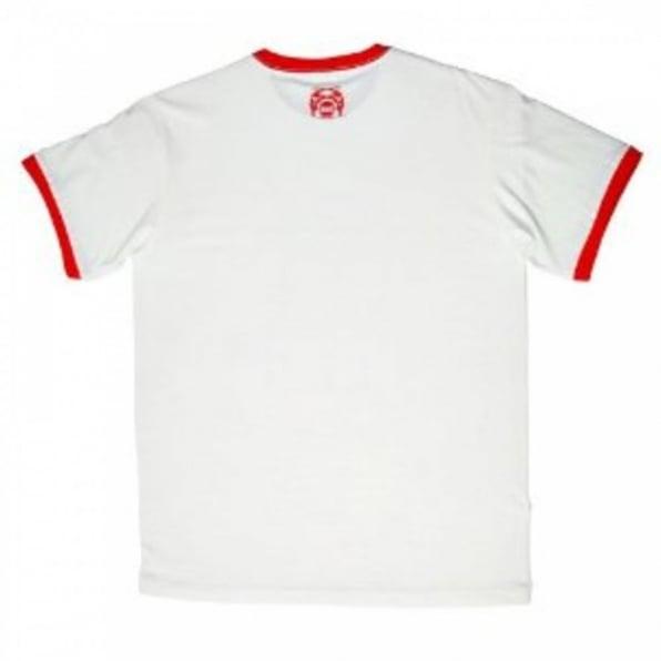 RMC JEANS White Crew neck regular fit short sleeve t shirt