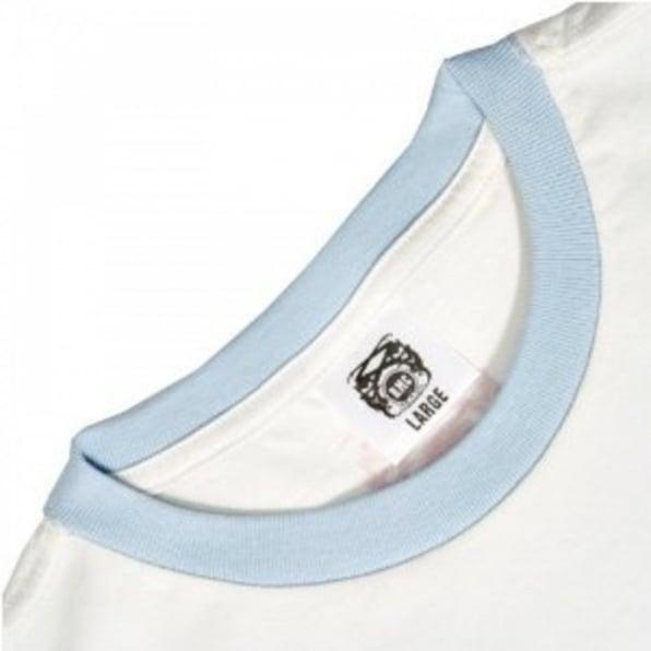 RMC JEANS White crew neck regular fit t-shirt Short sleeve