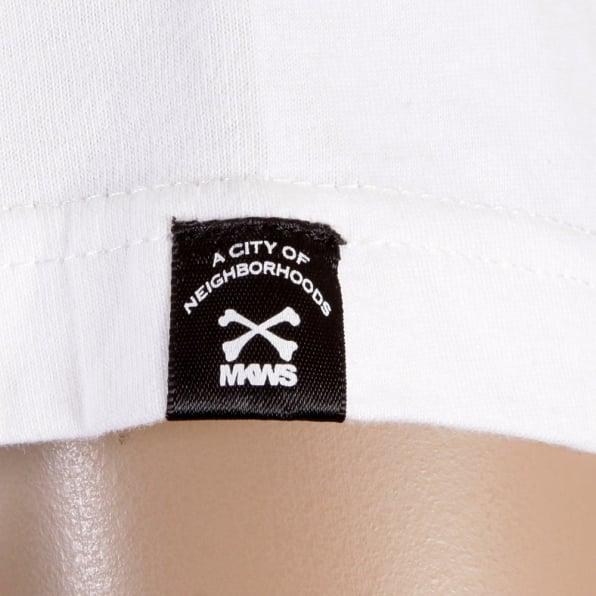RMC JEANS White Crew Neck Short Sleeve Regular Fit T-shirt for Men