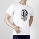 RMC JEANS White crew neck short sleeve regular fit t-shirt