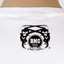 RMC JEANS White crew neck short sleeve regular fit t-shirt