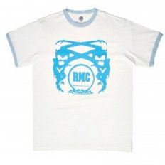 White logo short sleeve t-shirt