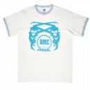 RMC JEANS White logo short sleeve t-shirt