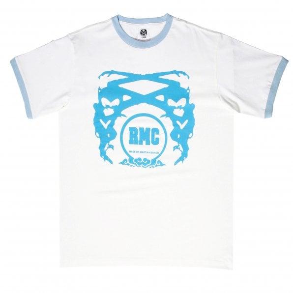 RMC JEANS White logo short sleeve t-shirt