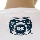 RMC JEANS White Regular Fit Short Sleeve Crew Neck T-shirt