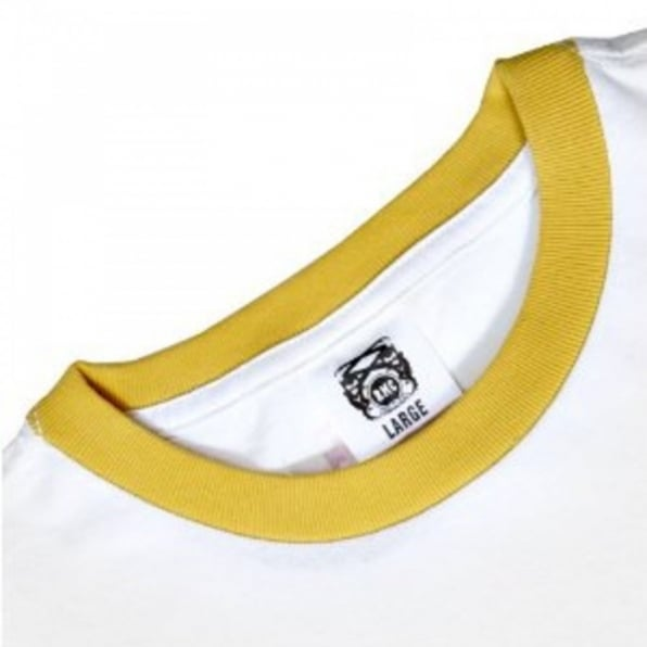 RMC JEANS White regular fit short sleeve t shirt with crew neck