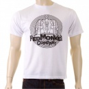 RMC JEANS White Short Sleeve Crew Neck Regular Fit T-shirt for Men