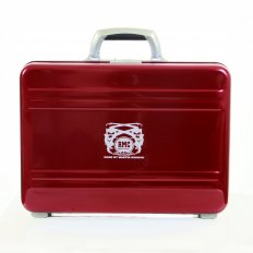 X Zero Halliburton Limited Edition Deep Red Aluminium Briefcase