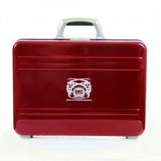 X Zero Halliburton Limited Edition Deep Red Aluminium Briefcase