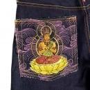 RMC JEANS Year of the Dragon Exclusive Design Dark Indigo Raw Denim Jeans