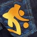 RMC JEANS Year of the Ox Exclusive Design Dark Indigo Raw Denim Jeans