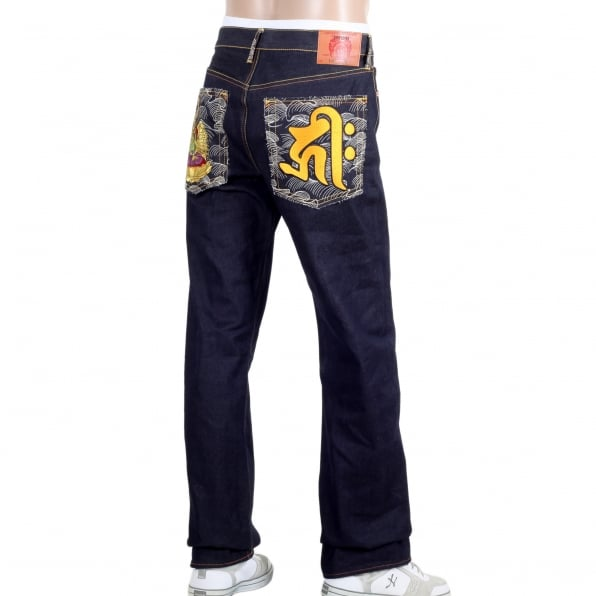RMC JEANS Year Of The Rat Super exclusive vintage cut raw selvedge denim jeans