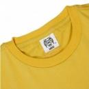 RMC JEANS Yellow crew neck regular fit short sleeve t-shirt