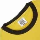 RMC JEANS Yellow Crew Neck regular fit short sleeve t shirt