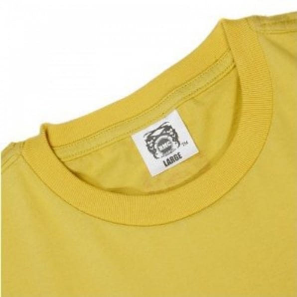RMC JEANS Yellow Knifemen Printed Crew Neck Regular Fit T-Shirt