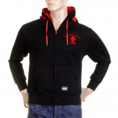Black Empire Hooded Zipped Regular Fit Sweatshirt