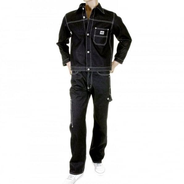 RMC MKWS Black Sugar Super Exclusive Unwashed Selvedge Denim Jacket
