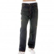 Exclusive Design Washed Vintage Cut Aged Worn Finish Denim Jeans for Men