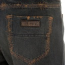 RMC MKWS Exclusive Design Washed Vintage Cut Aged Worn Finish Denim Jeans for Men