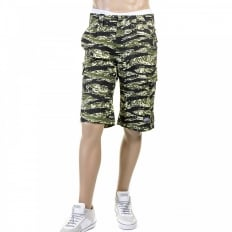 Genuine Mens Super Exclusive Design Green Camo Pattern Shorts
