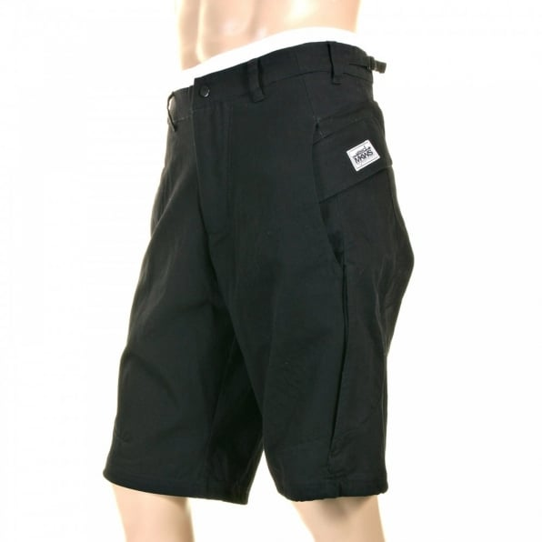 RMC MKWS Mens Super Exclusive Printed Logo Black Shorts