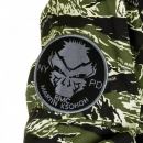 RMC MKWS Mens Tiger Camo Green Zip up Regular Fit Hooded Windbreaker Jacket