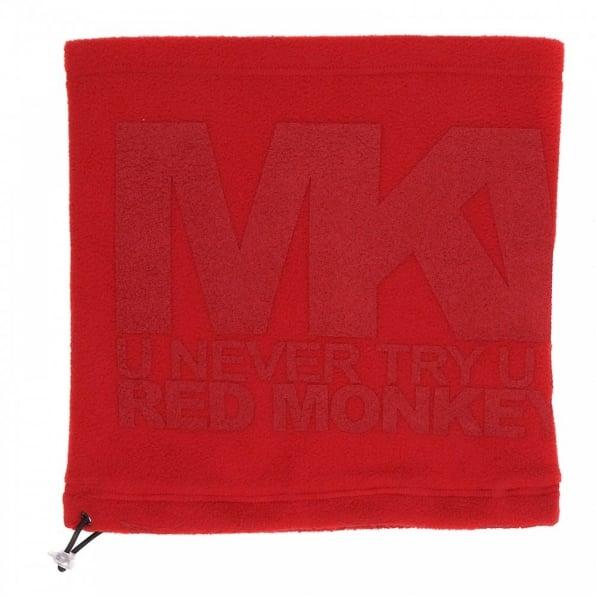 RMC MKWS Red Fleece Neck Warmer Snood For Men