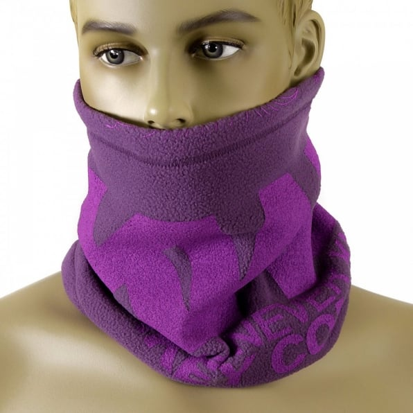 RMC MKWS Reversible Purple Fleece Neck Warmer Snood
