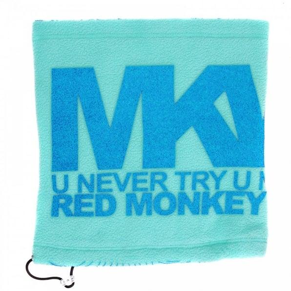 RMC MKWS Sky Blue Fleece Neck Warmer Snood For Men