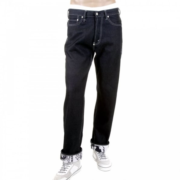 RMC MKWS Super Exclusive Black Sugar Unwashed Selvedge Denim Jean