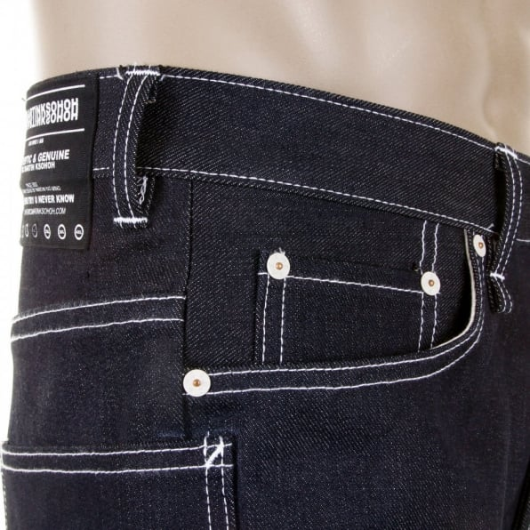 RMC MKWS Super Exclusive Black Sugar Unwashed Selvedge Denim Jean
