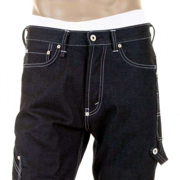 RMC MKWS Super Exclusive Design Black Sugar Unwashed Selvedge Denim Jean