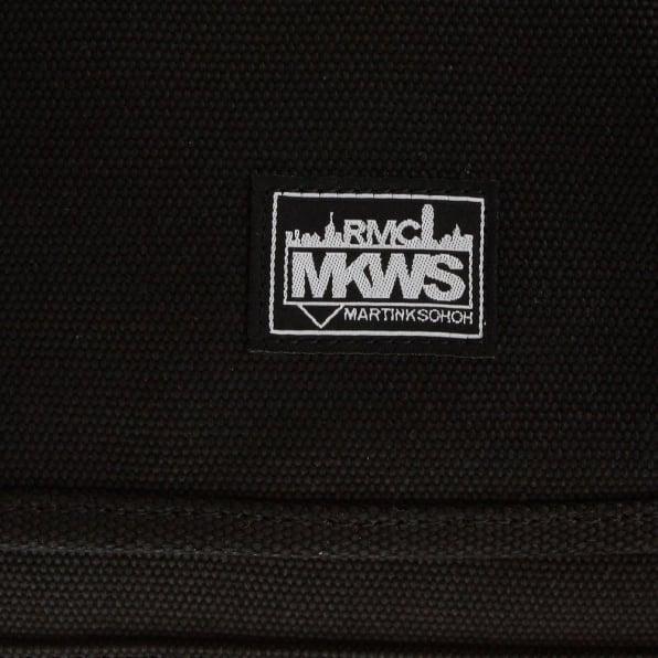 RMC MKWS Unisex Black Canvas Shoulder Bag