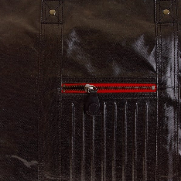 RMC MKWS Unisex Coated Denim with Laminated Tartan Lining Hand Carry Bag