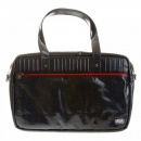 RMC MKWS Unisex Coated Denim with Laminated Tartan Lining Hand Carry Office Bag